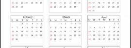 Visalia Unified School District Calendar 2021-2022